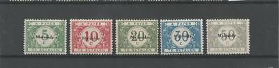 Timbres occupation OC79/83**