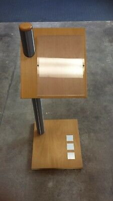 information lectern for car description ideal for classic car shows