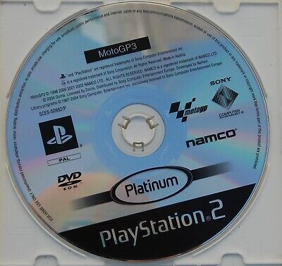 Moto Gp 3 - Platinum - Playstation 2 - Pal España - Solo Dvd
