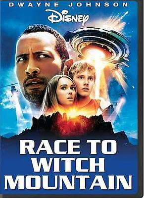 """Race to Witch Mountain (DVD, 2009) Dwayne """"The Rock"""" Johnson- Free Shipping"""