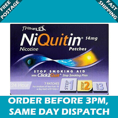 ThinFlex Niquitin Patch Step 2 14mg