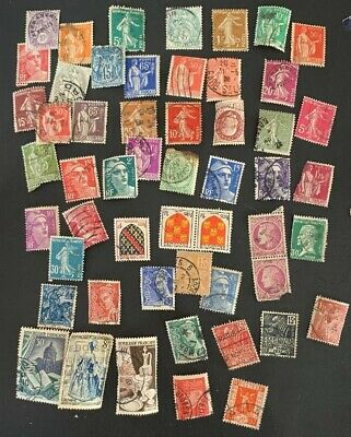 FRANCE Stamp Collection Used Mostly NH A1/69