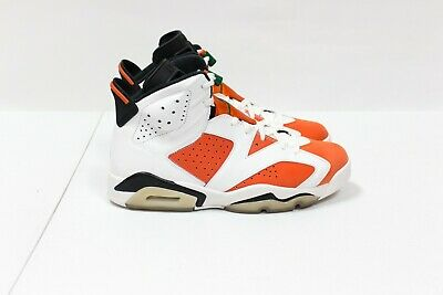 ef877cf48b9f Nike Air Jordan Retro VI 6 Gatorade Orange White Like Mike 384664-145 Size  10