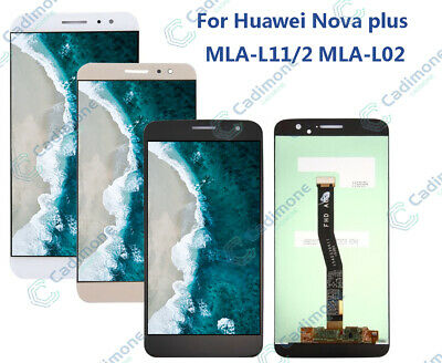 Per Huawei Nova Plus MLA-L11/2/L02 LCD Display Touch Screen Digitizer Assemby