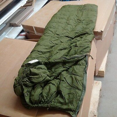 Canadian army 6 piece Cold weather arctic sleeping bag system goose down & bivy