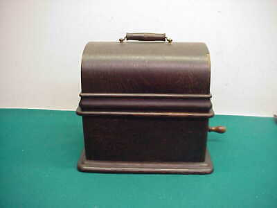 Antique 1906 Edison Home Phonograph cylinder player model C reproducer works
