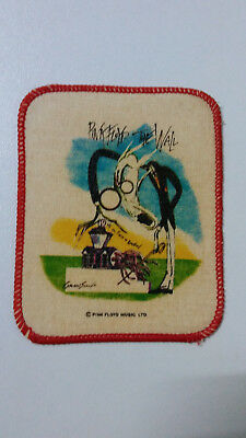 Pink Floyd the Wall RARE vintage music patch Sew On rock