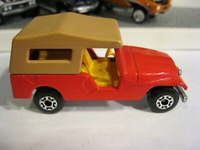 Matchbox Superfast No.53 Jeep CJ6 CJ-6 Red 1:64 Loose Minty