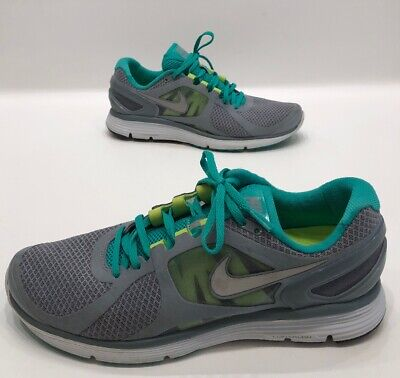 new arrival 3d354 a76f6 Nike Lunareclipse 2 Mens Gray green Athletic Running Shoes Size 12