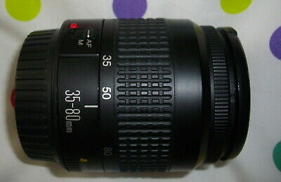 Canon EF 35-80mm Mark 3 f4-5.6 lens will fit EOS Digital Very Good condition