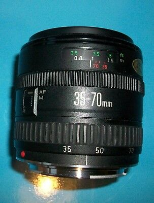 Canon EF 35-70mm f 3.5-4.5  MACRO lens will fit EOS Digital Very Good condition