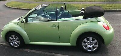 VW Volkswagen Beetle 2005 1.8t Convertible Soft Top Cabriolet low mileage VGC