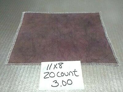 CROSS STITCH FABRIC hand dyed - various colors