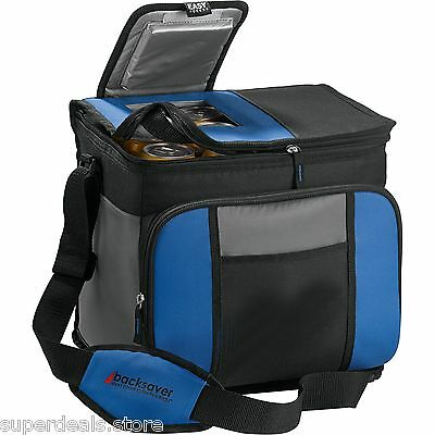 California Innovations 24 Can Easy-Access Collapsible Cooler Bag - Royal