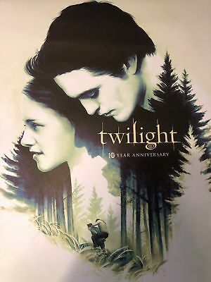 """Fathom Events Twilight 10th Year Anniversary Exclusive Poster, 13 X 15"""" NEW"""
