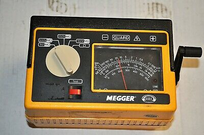 James Biddle Megger 212359  Industrial Surplus For Parts Or Repair