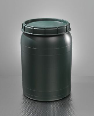 Barrel with Swivel Lid 60 L Green Wide Neck Ton Weithalsfass New!