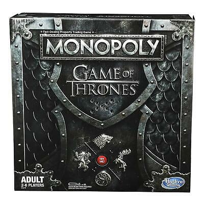 Game of Thrones Monopoly Adult Board Game