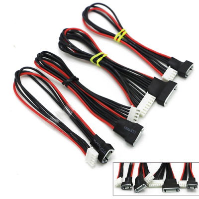 2s 3s 4s 5s 6s LIPO Balance Extension Leads Cables Cord Wire JST-XH 20CM 22AWG