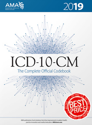 ICD-10-CM 2019 The Complete Official Codebook 2019 [PDF] Fast Delivery