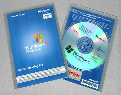 WINDOWS XP PROFESSIONAL x64 Edition Full Version Disk & Product Key