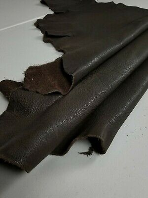 "B2 Rustic Sapling Brown Leather Cow Hide 8/"" x 10/"" Pre-cut 1 1//2-2 oz Saffiano"