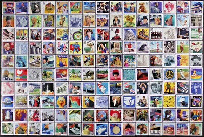 Celebrate The Century Complete Set of 150 Mint NH Single Stamps #3182 - 3191 USA