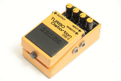 BOSS DS-2 Turbo Distortion Guitar Effect Pedal 1 F/S