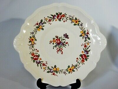 Antique Art Deco Royal Doulton Leighton Display Cake Serving Plate Dish D6164