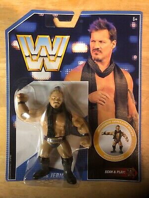 WWE Mattel Retro Chris Jericho Figure HOT NEW WWF AEW Series 7