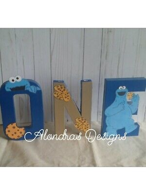 Cookie Monster Birthday Party Supplies Cookie Monster Favors