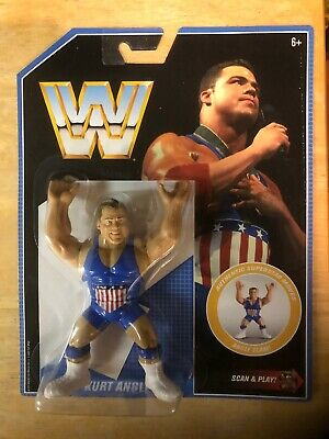 WWE Mattel Retro Kurt Angle Figure HOT NEW WWF AEW Series 7
