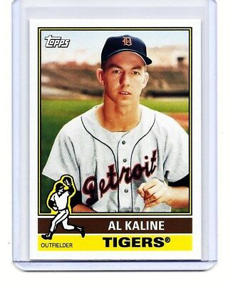 Al Kaline - Detroit Tigers - 2015 Topps Archives - Card #184