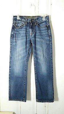 American Eagle Outfitters Original Straight Boys Jeans 26W 28L Blue