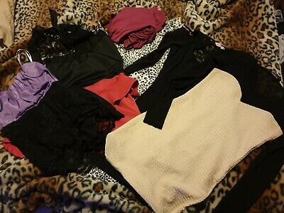 Ladies Bulk Clothing Lot Bundle Size 8 S x6 items