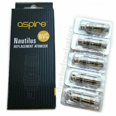 Aspire Nautilus BVC Replacement Coils Head 1.8 / 1.6 ohm -  US Seller