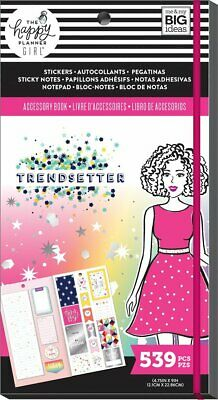 Happy Planner Accessory Book: Trendsetter Stickers Sticky Notes & Notepad in Set