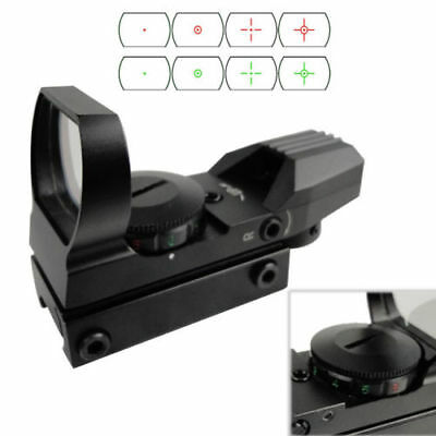 1MOA Green Red Dot Reflex Sight Holographi 4 Reticules Rifle Rail Sight Scope