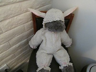 "LARGE   "" WOLF IN SHEEP'S CLOTHING ""    Plush Stuffed   (VINTAGE)"