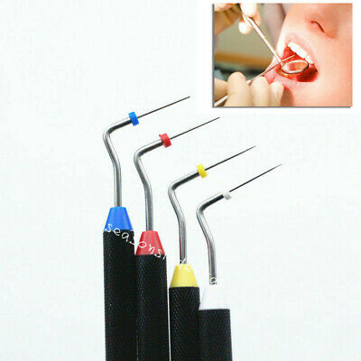 Dental Endo Buchanan Sybronendo Hand Plugger NiTi Tip Fill Obturation 4 Sizes