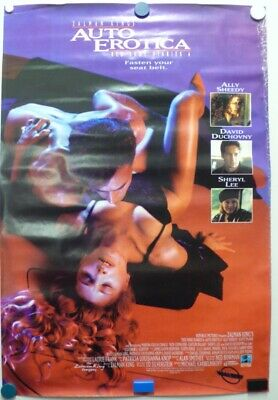 97324829 RED SHOE DIARIES 4: AUTO EROTICA 1991 Ally Sheedy, David Duchovny-Poster
