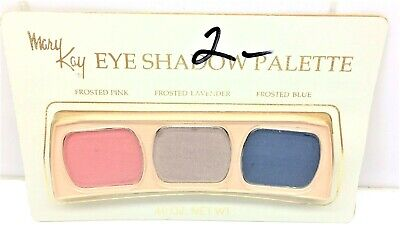 NEW RARE VINTAGE MARY KAY EYE SHADOW PALLETTE -Frosted PINK /  LAVENDER  / BLUE