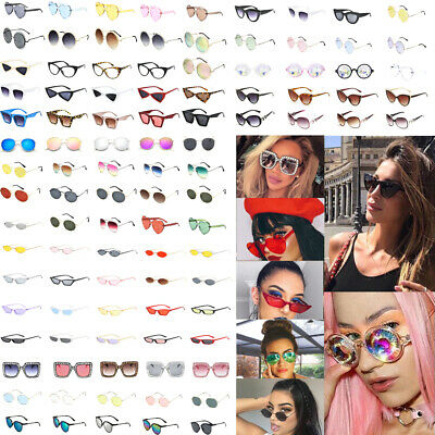 Fashion Women Oversize Square Oval Frame Sunglasses Ladies Retro Small Glasses