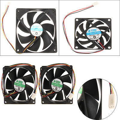 120mm 70mm 80mmx15mm 120x25mm 12V 3Pin DC Brushless PC Computer Case Cooling Fan