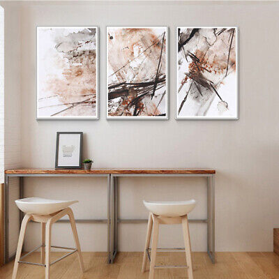 Abstract Ink Painting 3 Frameless Wall Printing Painting Art Picture Home HOT