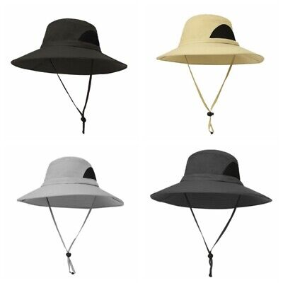 bfa79007b8ca7 Outdoor Mens Womens Boonie Bucket Cap Fishing Hiking Military Hunting Sun  Hats