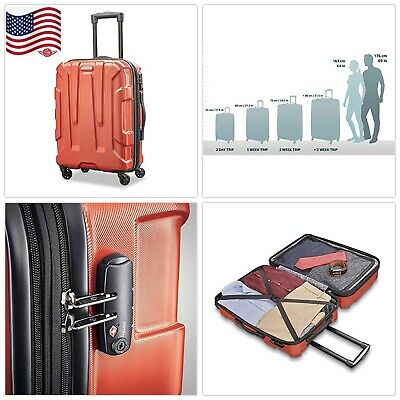 """20 """"Samsonite Centric Expandable Hardside Carry On Luggage with Spinner Wheels"""