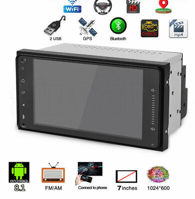 """7"""" Android 8.1 2DIN Radio GPS Wifi Universal for Toyota Old Corolla RAV4 Camry"""