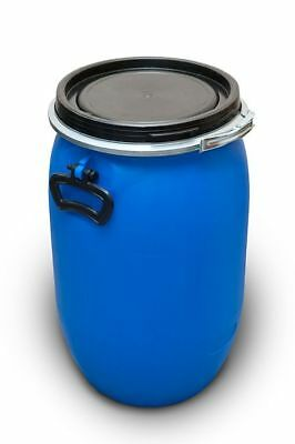 Plastikfass Barrel Cover with the Buckle 30 Liter Blue Blue New! Top