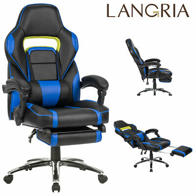 Luxury Executive Racing Gaming Office Chair Gas Lift Swivel Computer Desk Chair